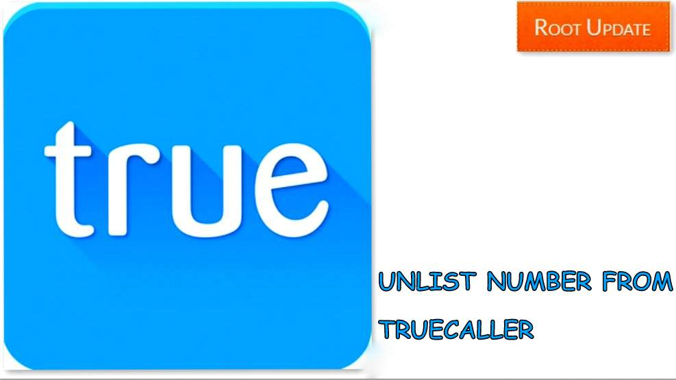 DELETE NUMBER FROM TRUECALLER