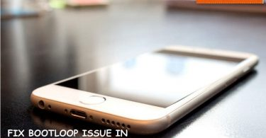 FIX BOOTLOOP ISSUE IN APPLE IPHONE