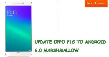 UPDATE OPPO F1S TO ANDROID 6.0 MARSHMALLOW