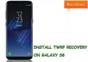 Install Twrp recovery on galaxy s8