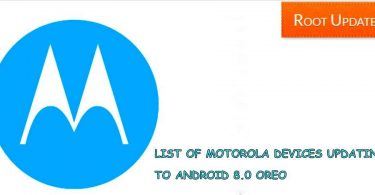 Motorola Devices That will Receive android 8.0 oreo Update