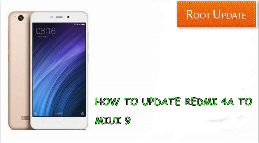 Update Redmi 4A to miui 9