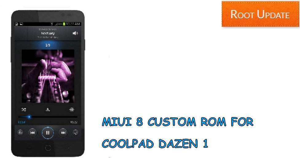 Miui 8 rom for Coolpad Dazen 1