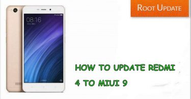 How to update redmi 4 to miui 9 officially