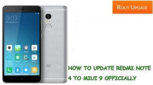 How to Update Redmi note 4 to Miui 9