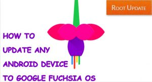 How to Update Any Android device to Fuchsia OS