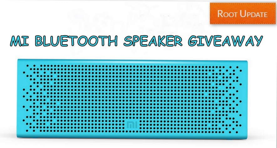 MI BLUETOOTH SPEAKER INDIA Giveaway for free 2017