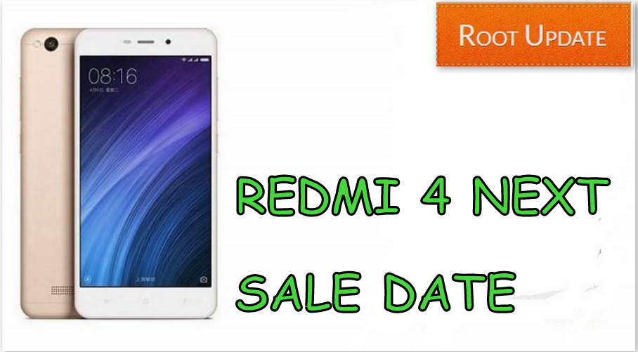 redmi 4 next sale date on Amazon and Mi