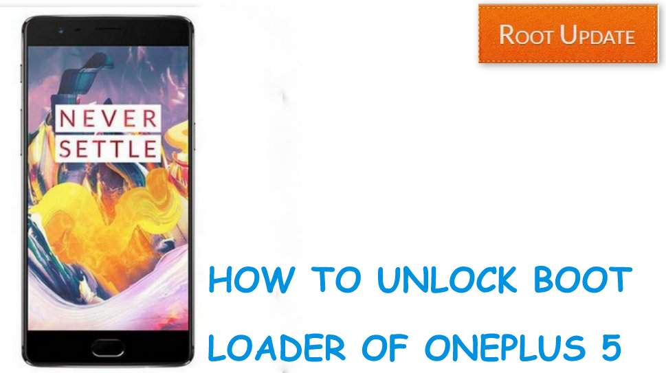 unlock bootloader of oneplus 5