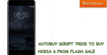 Autobuy Script trick buy Nokia 6 From Amazon Flash Sale