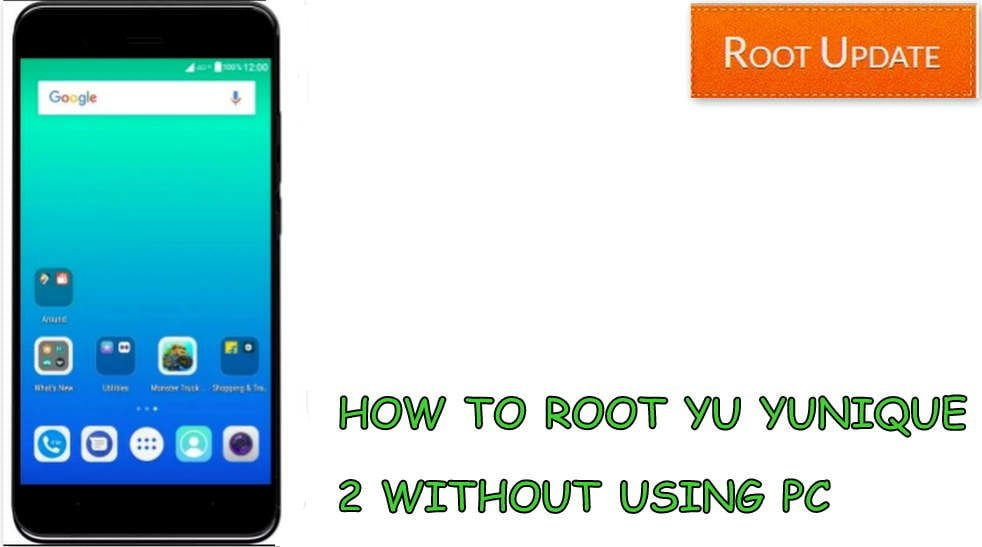 Root yunique 2 without Pc