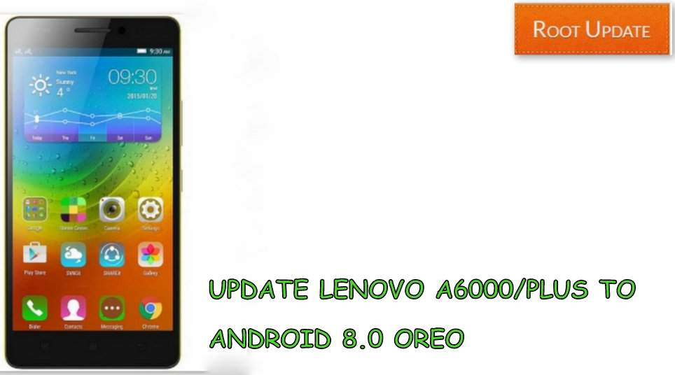 update lenovo A6000/Plus to android 8.0 oreo