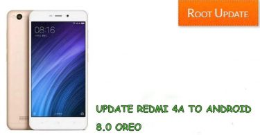 Update Redmi 4A to android 8.0 oreo