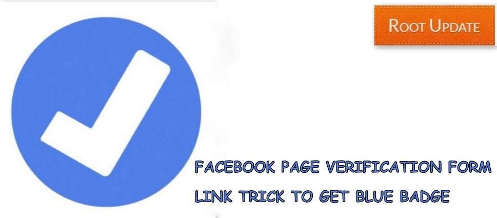 Facebook Page Verification Form Link trick