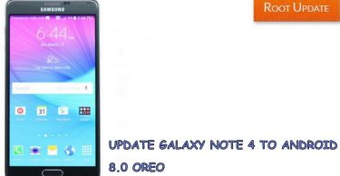Update galaxy note 4 to android 8.0 oreo