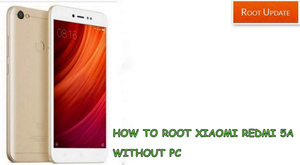 How to root Redmi 5A without Pc