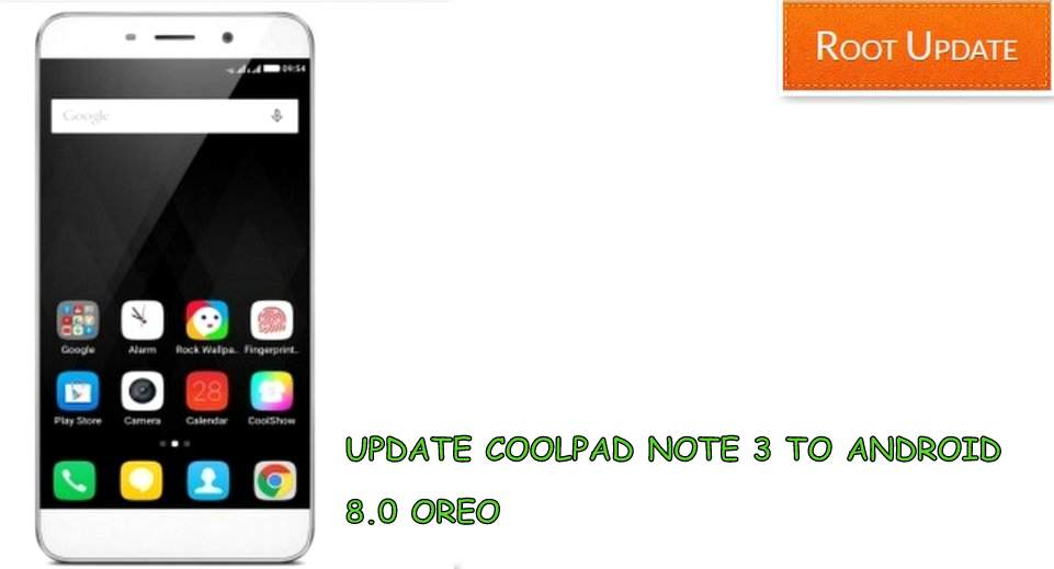 UPDATE COOLPAD NOTE 3 LITE TO ANDROID 8.0 OREO