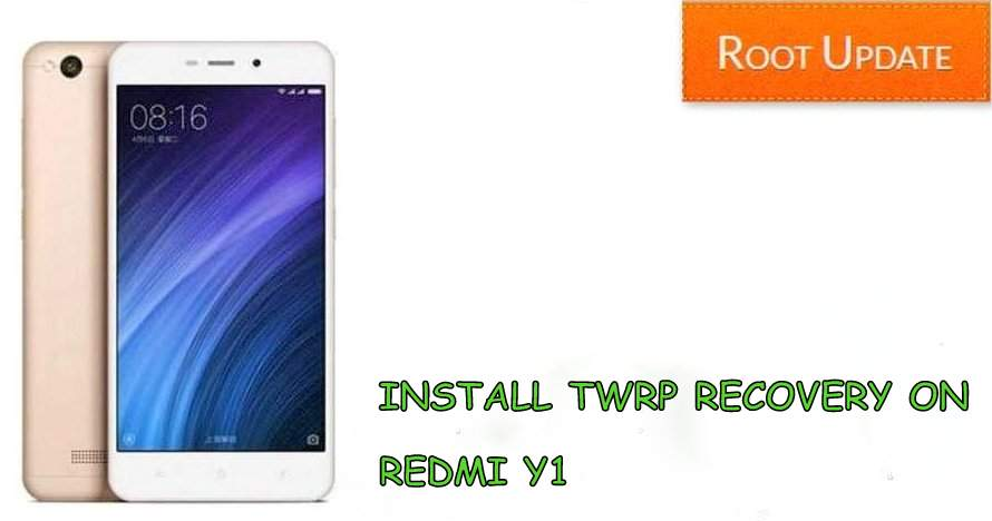 Install TWRP recovery on redmi