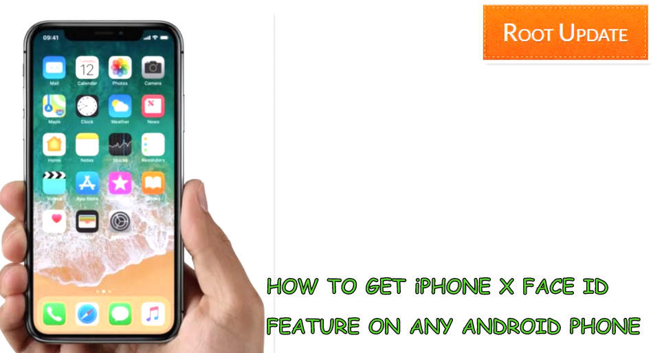 Get iPhone X face id feature on Any Android device
