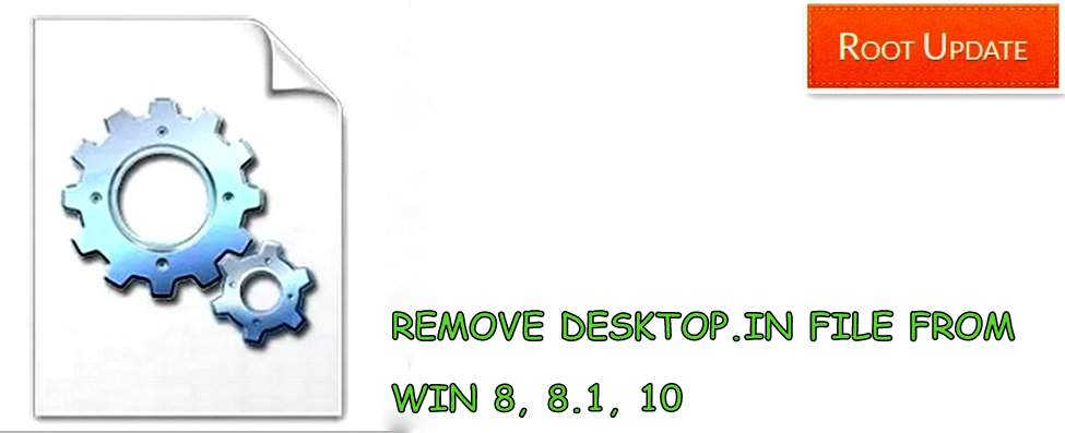 Remove Desktop.ini files from Pc Laptop