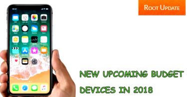 TOP UPCOMING DEVICES IN 2018
