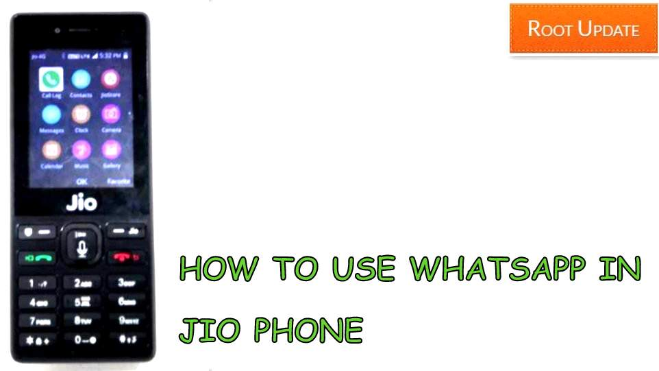 How to use whatsapp on Jio Phone