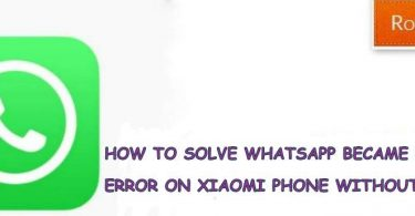 Solve This Version of Whatsapp Became Obsolete Xiaomi Error