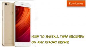 How to Install TWRP recovery on Any Xiaomi Device