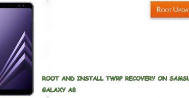 ROOT AND INSTALL TWRP RECOVERY ON GALAXY A8