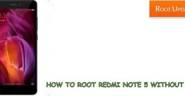 Root Redmi Note 5 Without PC