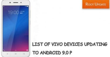 List of Vivo Devices Updating to Android 9.0 P