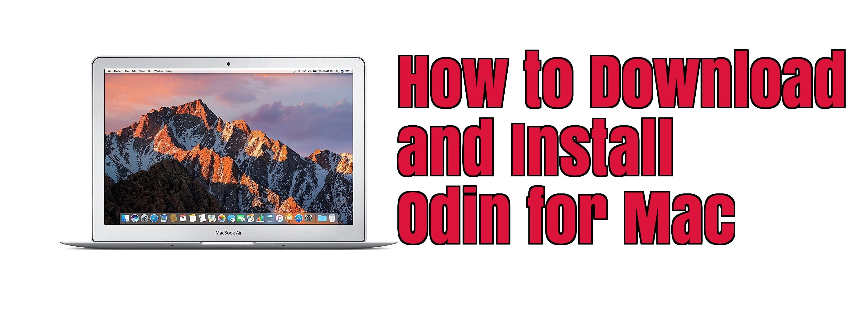 Install Odin for Mac
