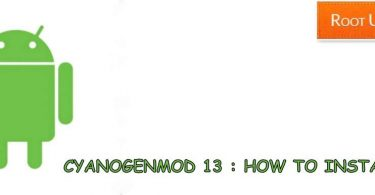 Install Cyanogenmod 13 on Android Phone
