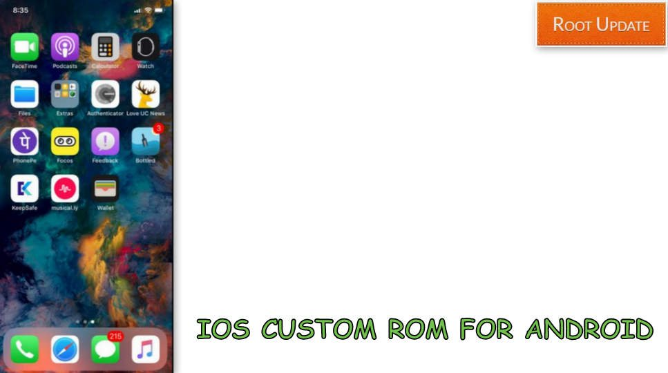How to Install IOS ROM on Android