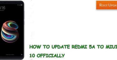Update Redmi 5A to Miui 10