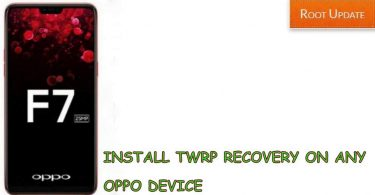 Install TWRP recovery on any Oppo Device
