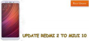 Update Redmi 2 to Miui 10