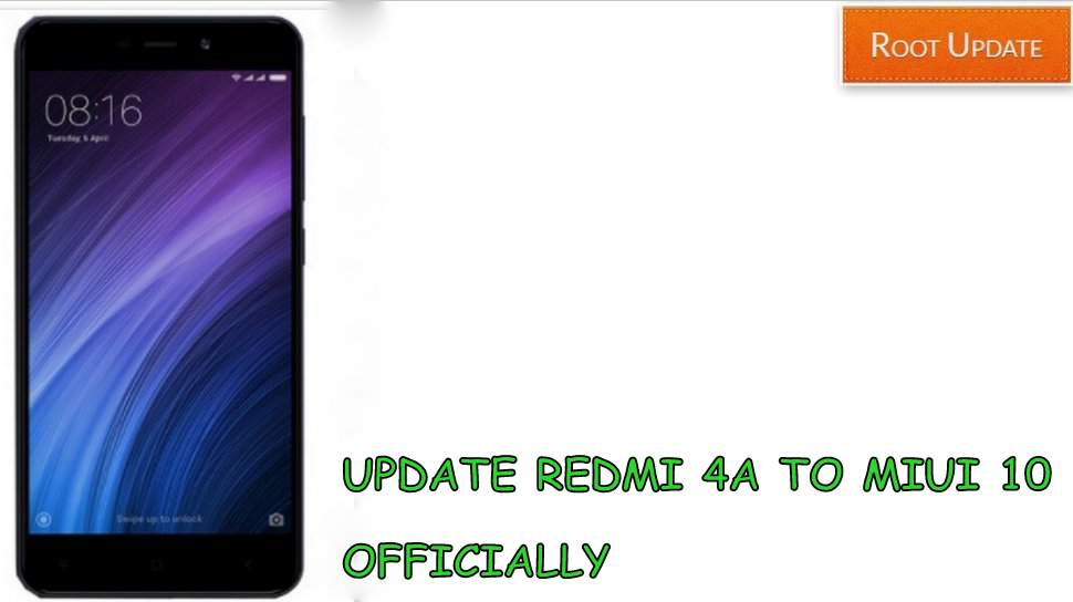 Update redmi 4a to Miui 10 Officially