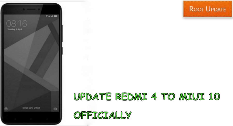 Update Redmi 4 to Miui 10