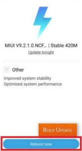 Redmi 4A Miui 10 Update