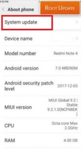 Update Redmi Note 5 to Miui 10