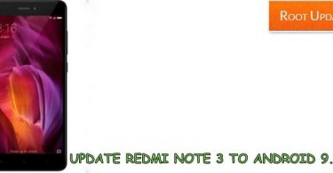 Update Redmi Note 3 to Android 9.0 P