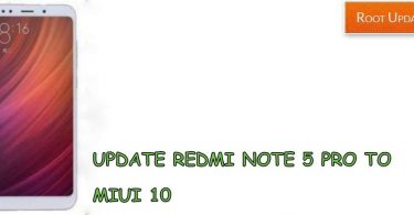 UPDATE REDMI NOTE 5 PRO TO ANDROID 9.0 P