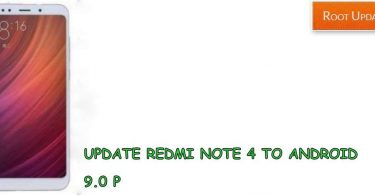 update redmi note 4 to Android 9.0 p