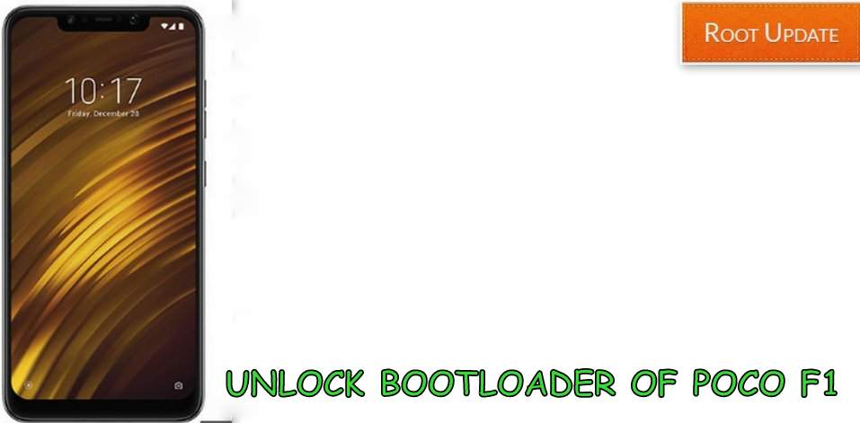 UNLOCK BOOTLOADER OF POCO F1 WITHOUT PC