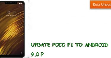 Update Poco F1 to Android 9.0 P