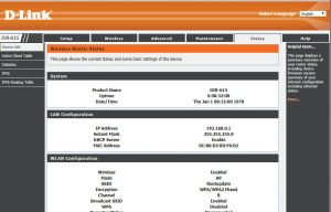 D-link Router iP Address