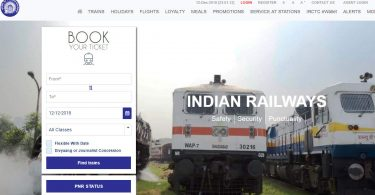 Create IRCTC new account Signup Registration