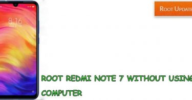 ROOT REDMI NOTE 7 WITHOUT USING PC