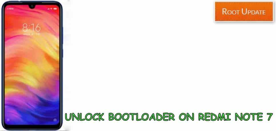 Unlock bootloader on Redmi note 7